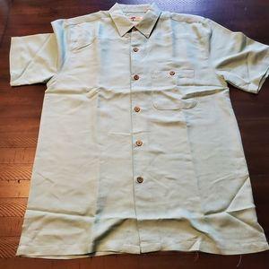 Other - Joe Marlin Cotton Rayon Textured Woven Shirt